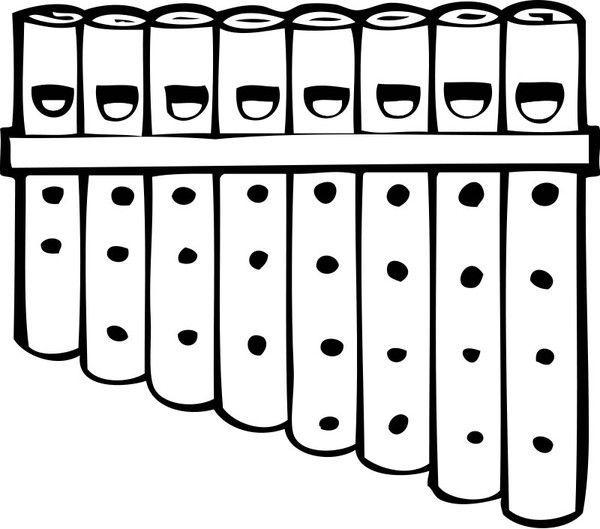 Coloriages fete de la musique page 2 - Dessin de flute ...