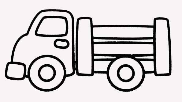 Coloriages vehicules pour petits - Dessin a colorier de voiture ...