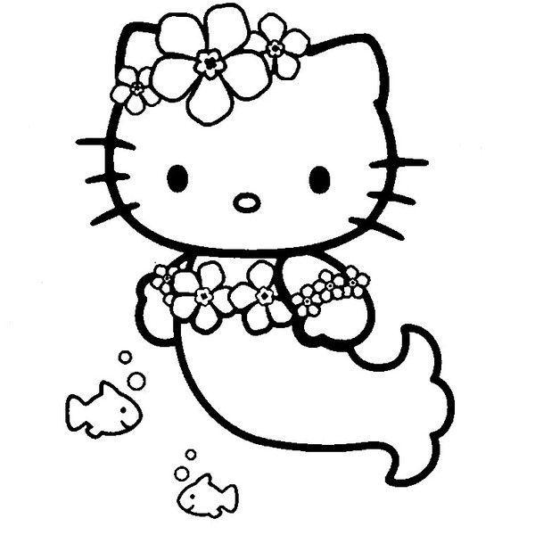 Coloriages hello kitty - Coloriage hello kitty coeur ...