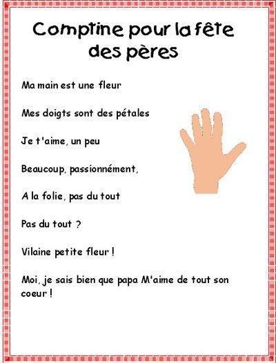 Poemes Fete Des Peres