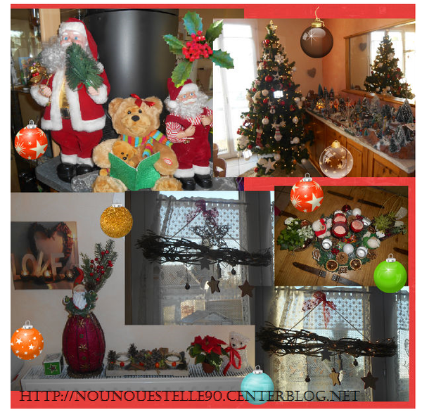 Decoration de noel interieur 2016 for Decoration noel interieur