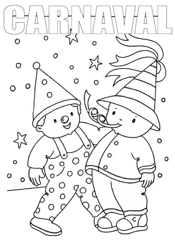 Coloriages carnaval page 2 - Dessin carnaval ...