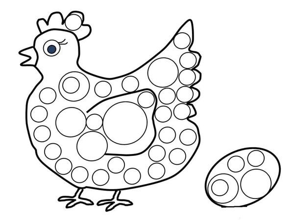 Poule et oeuf de p ques - Poules de paques ...