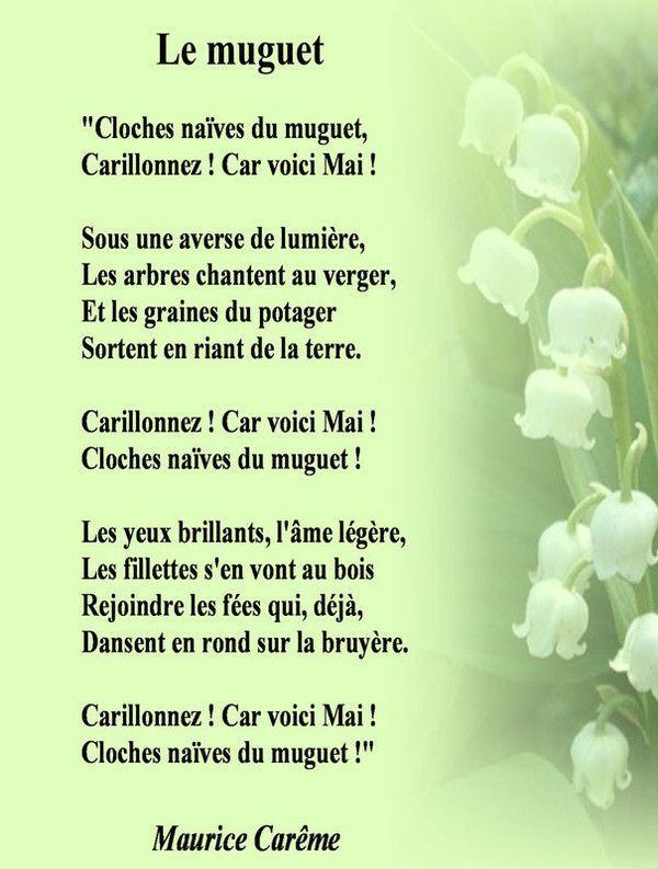 Poesie du 1 mai - Poeme coccinelle porte bonheur ...