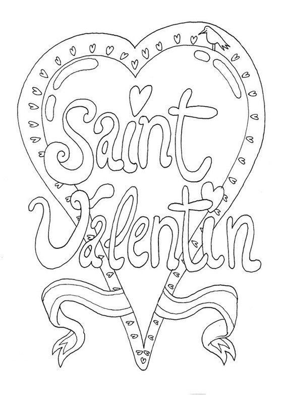 Coloriage saint valentin - Jeux pour dessiner gratuit ...