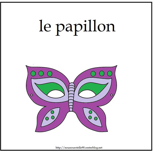 Activitee de carnaval page 2 - Masque papillon carnaval ...