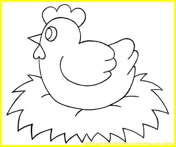 Coloriage paques page 4 - Dessin de poules ...