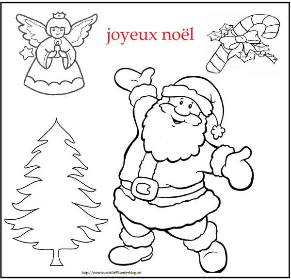 Coloriage noel - Joyeux noel coloriage ...