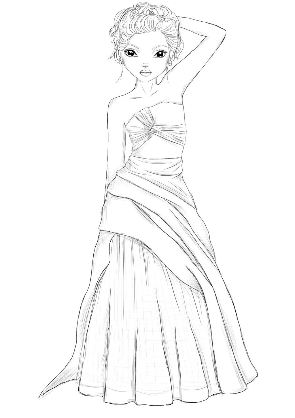 Woman in addition Qatar as well A B A moreover Narcissus further B B. on net coloring page