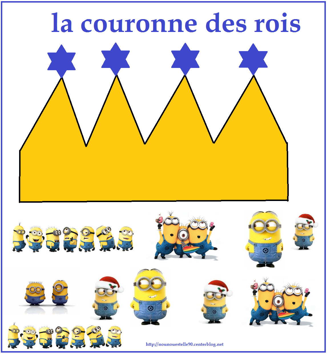 la couronne des rois d corer minions. Black Bedroom Furniture Sets. Home Design Ideas