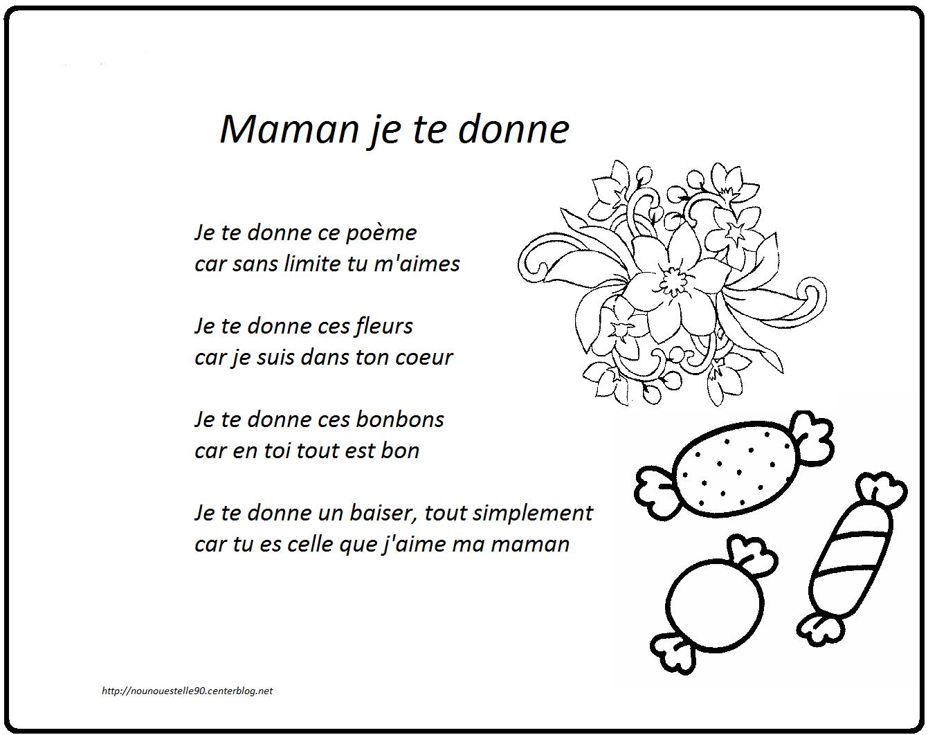 Poeme Fete Des Meres