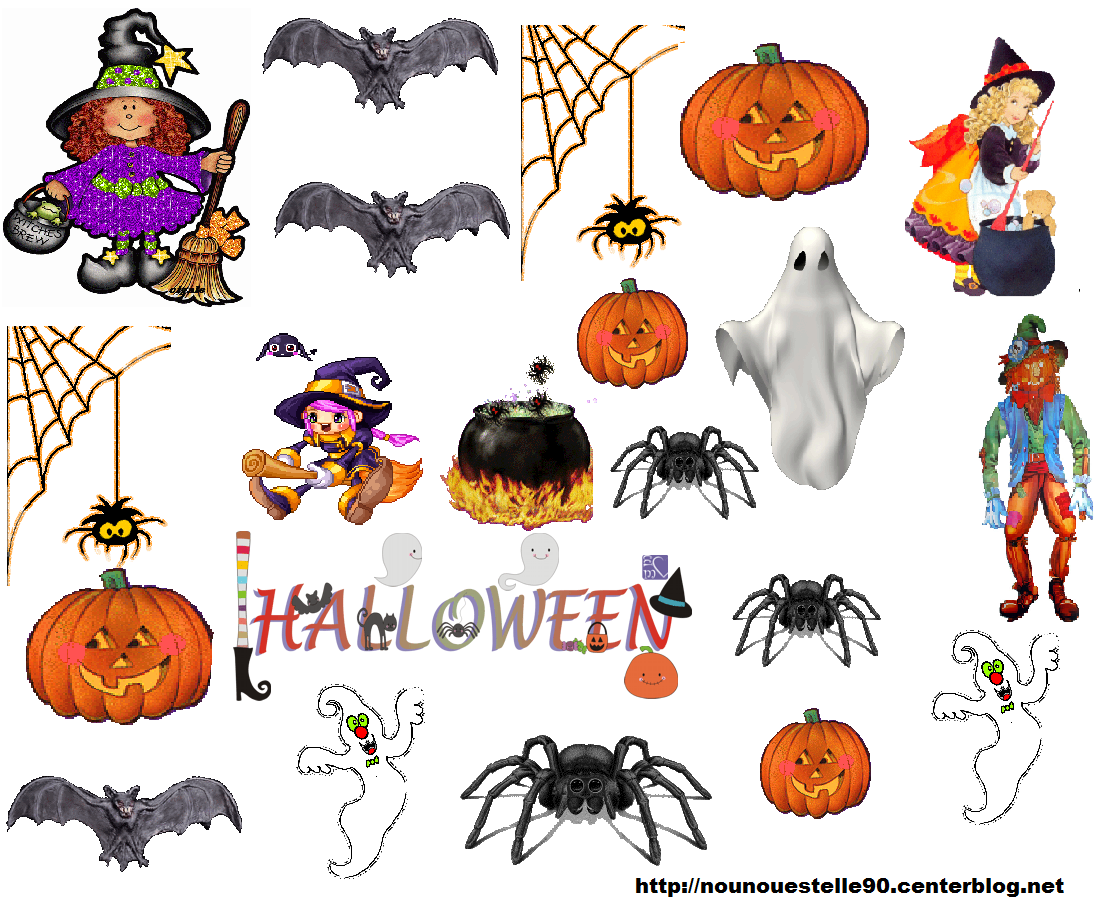 Gommettes hallowen page 5 - Image halloween a imprimer ...