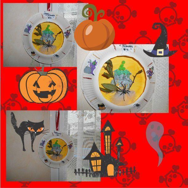 Bricolage de halloween page 5 for Decoration a suspendre