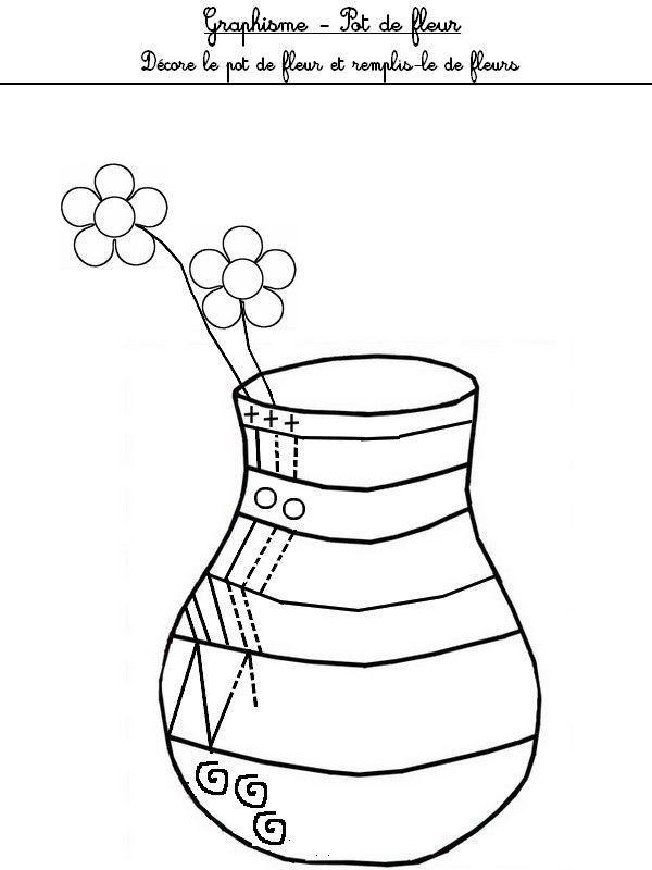 Le vase - Dessiner un vase ...
