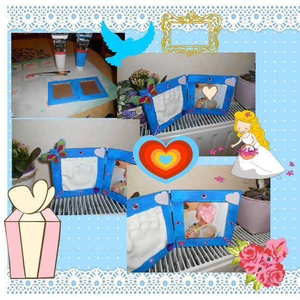 Bricolages fete des mere fete des pere page 2 - Cadre photo a peindre ...