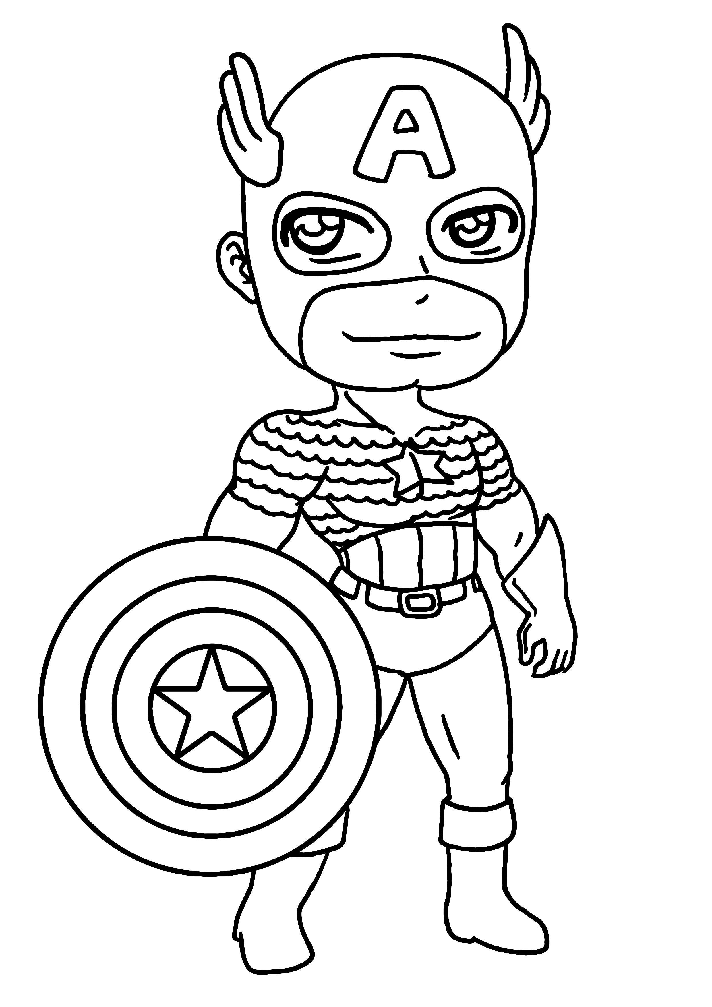 Coloriages Super Heros