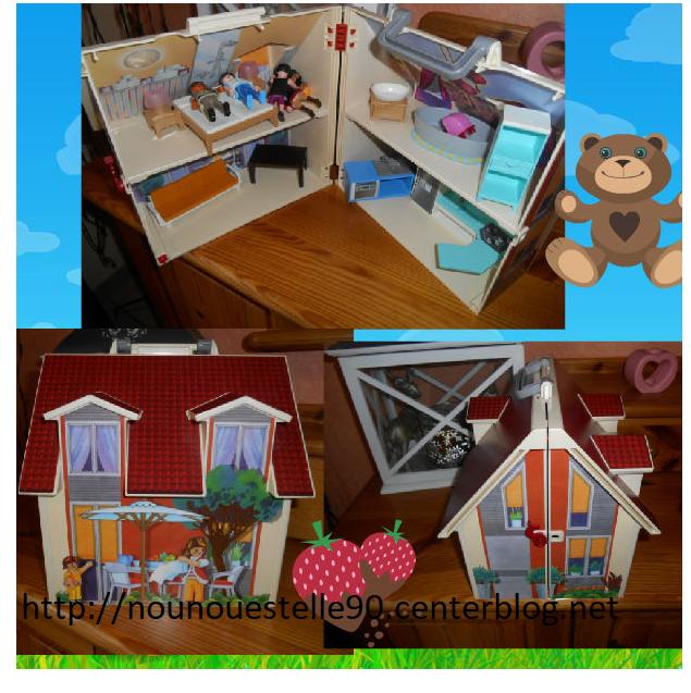 la maison playmobil. Black Bedroom Furniture Sets. Home Design Ideas
