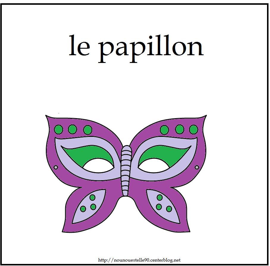 Activitee de carnaval page 3 - Masque papillon carnaval ...