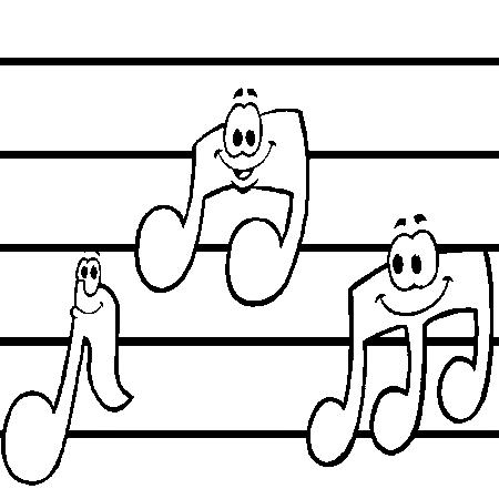 Coloriages fete de la musique - Musique coloriage ...